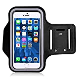 A3sprime Sports Running Mobile Armband Pouch with Key Earphone Holder Adjustable Compatible