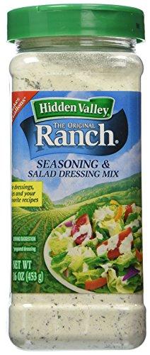 Hidden Valley Ranch Seasoning & Salad Dressing Mix (2 Pack)