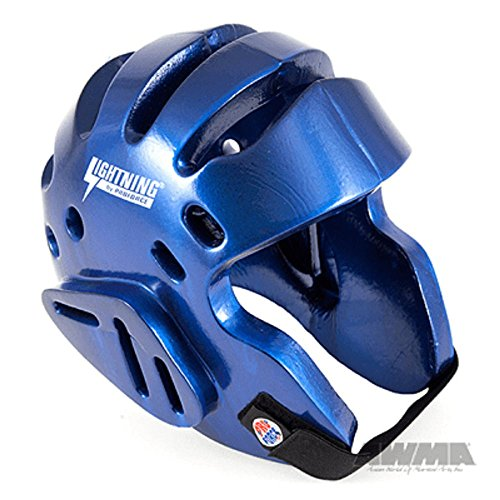 ProForce Lightning Sparring Headgear - Blue - Medium