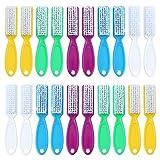 LLMZ Cepillos de Uñas 20 Piezas Cepillos de Limpieza de Uñas con Mango Largo para Limpiar Las Uñas de Los Pies y Las Uñas