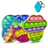 NUDGE 3pcs Pop it Toy, Decomprimere Il Giocattolo, Gioco del Cervello,...