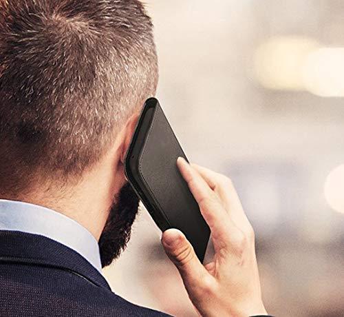UltraProtection Schutztasche für Huawei Ascend Y200 Tasche, Schutz-Hülle, Handytasche, Wallet Cover Case, Handy Etui in Schwarz - 6