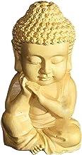 sharprepublic Buddhism Boxwood Sakyamuni Buddha Small Statue Figurine Decor Sculpture
