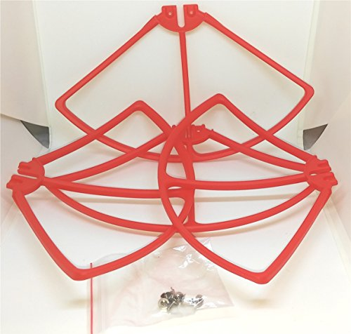 Promark VR P70 drone replacement blade guards (set of 4) Red with scews