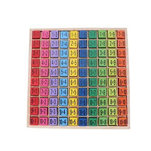 Toyvian Multiplikation Spiele Stengel Spielzeug Mathe Spiele Multiplikation Mathe Tastatur Spielzeug Kleinkind Geburtstagsgeschenke