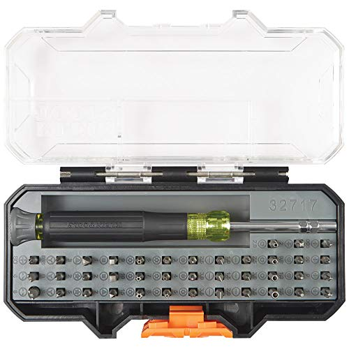 Precision Screwdriver Set with Case, All-in-One Multi-Function Repair Tool Kit Includes 39 Bits for Apple Products Klein Tools 32717