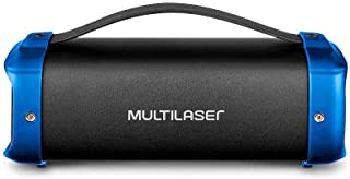 Bazooka Multilaser 70w Bluetooth Preto/Azul - SP351