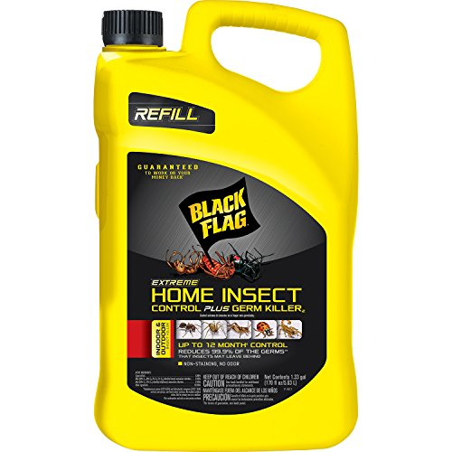 Black Flag HG-11103 Extreme Home Insect Control Plus Germ Killer AccuShot Refill, 1.33-Gal, 1-Count