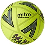 Mitre Ultimatch Indoor Football Mixte, Jaune/Noir, 5