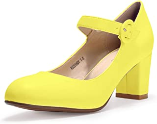 Mary Jane / Yellow / Pumps / Shoes