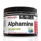 PEScience Alphamine, Sour Green Apple, 60 Scoops, Versatile Thermogenic Energy Powder