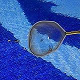 Rlorie Hoja de Red Marco de Aluminio Red de Pesca de Hojas de Piscina Herramientas de Limpieza de Piscinas para spas, Piscinas, Fuentes Lovable