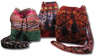 Shamans Market Peruvian Drawstring Bag Red