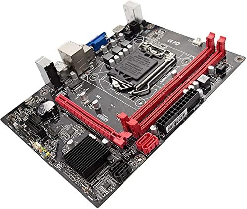 MWKL Enchufe de Placa Base de computadora de Escritorio H81 actualizado Lga 1150 Pines I3 I5 3470 4590 CPU Super B85 -ATX Uefi Bios