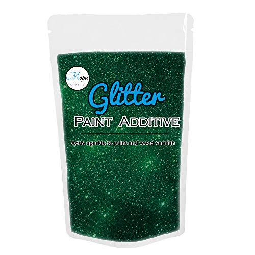 Glitzer für Emulsionsfarbe Additiv Fugenmasse 100g smaragdgrün