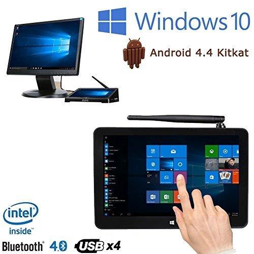 WanGang PIPO X9 8.9 inch 1920x1200 Dual Boot Smart TV Box Mini PC Windows 10 Android 4.4 Intel Z3736F Quad Core 2.16GHz 2G+32G Media player device: Amazon.es: Electrónica