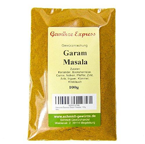 Garam Masala , Miscela tradizionale della cucina indiana GR 100