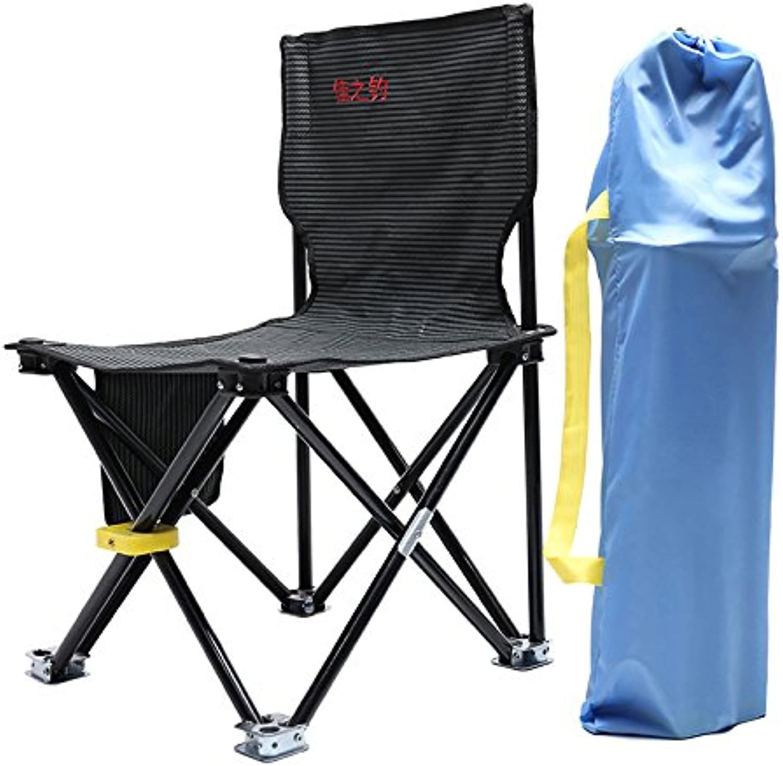 Fishing Chair Foldable Portable Fishing Stool Fishing Tackle Fishing Supplies Outdoor Folding Chair,L
