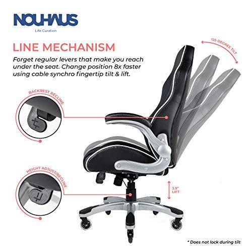 NOUHAUS Velour Velvet Computer Chair