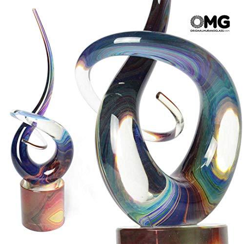 Original Murano Glass OMG Love Knot Glass Sculpture