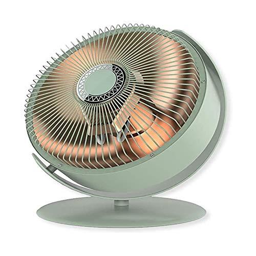 Calentador de espacio portátil de interior Cálculo de la temperatura constante Mini calentador de ventilador de fibra de carbono Calefacción de protección contra sobrecalentamiento de la oficina y el