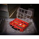 Milwaukee 10-Compartment Red Deep Pro Small Parts Organizer