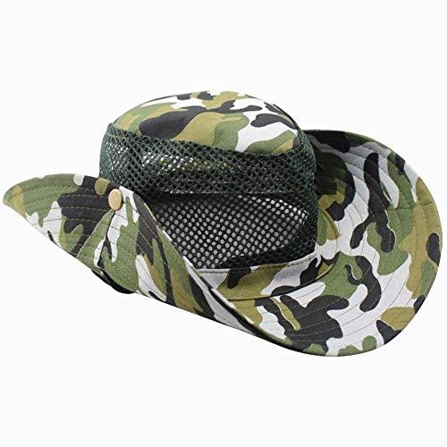 Sombrero De Ala Ancha Unisex Sombrero De Pesca Sombrero Tamaños Cómodos De...