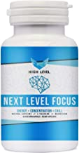 High Level Next Level Focus | Caffeine with L-Theanine and Magnesium for Sustained Energy & Focus - Focused Energy for Your Mind & Body - No Crash