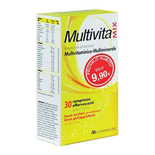 Multivitamix eficaz sin azúcar y sin gluten, 30 cpr*