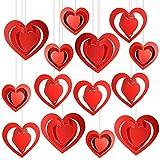 Amor Corazon Sellos para Niños Adulto Manualidades San Valentín Tarjeta Bricolaje Scrapbooking, Madera Sellos con Almohadilla de Tinta para Impresión Romántico Regalo Bolsas para San Valentín Bolsas