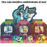 The Pokémon Company - Caja metálica Poder Elemental - Español (POTB1901)