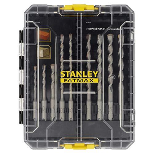 STANLEY STA88562-XJ Juego de Brocas SDS Plus FATMAX de 9 Piezas