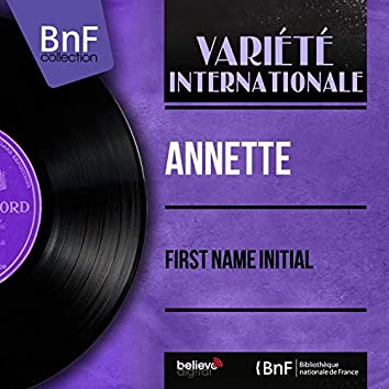 First Name Initial (feat. Camarata and His Orchestra) [Mono Version]