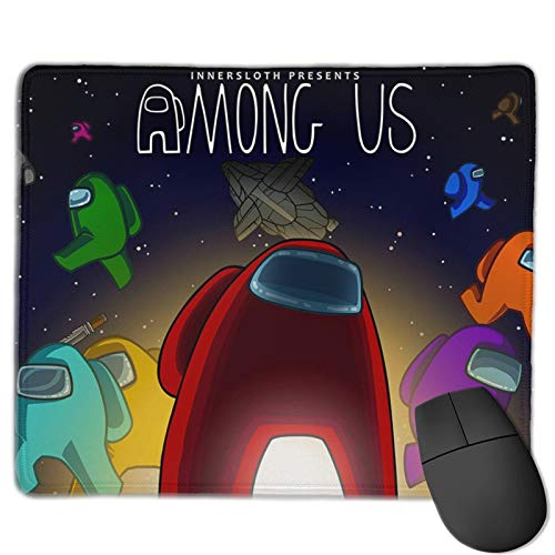 Among Us Mouse Pad Anime Gaming Mouse Pad Waterproof Mousepad Personalized Non-Slip Mouse Mat.