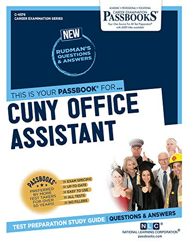 CUNY Office Assistant (4576) (Career Examination Series)