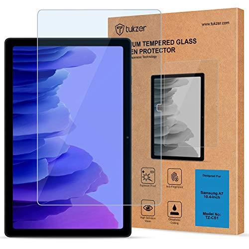 Tukzer Tempered Glass Screen Protector for Samsung Galaxy Tab A7 10.4 (2020), Anti-Scratch, Bubble-Free, Premium 9H Hardness