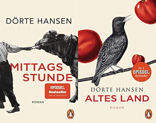 Zwei Romane im Set Mittagsstunde + Altes Land + 1 exklusives Postkartenset (Welt)
