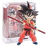 YIGEYI Dragón Bola Goku Infancia Ver Anime Acción Figura 12 cm Figuras de PVC Figuras Coleccionables...