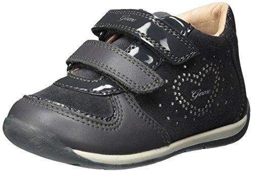 Geox Baby-Mädchen B Each Girl B Sneaker, Grau (Dk Grey), 21 EU