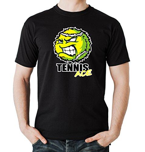 Certified Freak Tennis Ace T-Shirt Black L