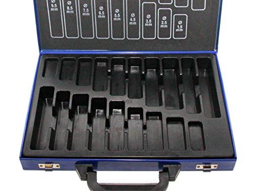 SYTO24, Leerbox für Bohrer-Set (170tlg.) Spiralbohrer Metallbohrer Stahlbohrer 1-10mm, Aufbewahrungsbox