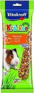Vitakraft Kracker Guinea Pig Small Animal Food Honey-Spelt, Pack of 5