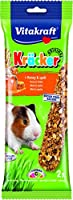 Original Vitakraft Kracker Baked three times on a natural wooden stick Sugar Free Recipe Practical cage clip Aroma fresh foil packaging