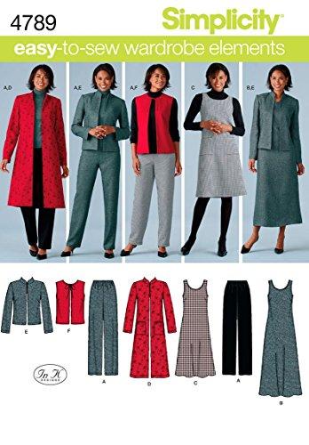 Simplicity 4789 AA patroon dames/Plus maat Sportswear
