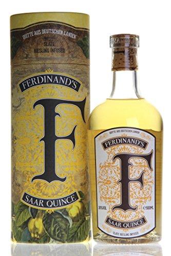 Ferdinand's Saar Quince Gin mit Geschenkverpackung (1x0,5L)