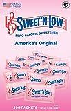 Sweet'N Low Sweetener, 400 Count Packets