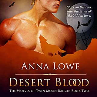 Desert Blood audiobook cover art