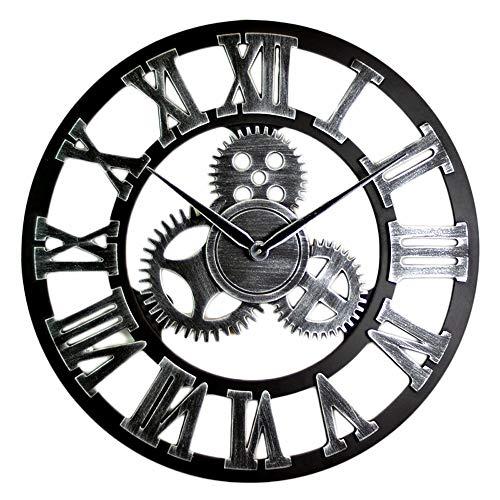 WJHCDDA Reloj De Pared Estilo De Diseño Circular De La Casa