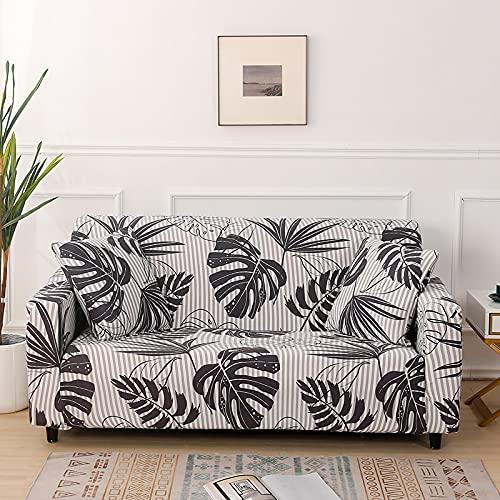WXQY Elastischer All-Inclusive-Sofabezug, L-förmige Ecke fest umwickelter Sofabezug, Rutschfester Sofabezug Couchbezug A1 1-Sitzer