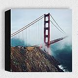 Card-Art - San Francisco, Golden Gate Bridge - Moderne
